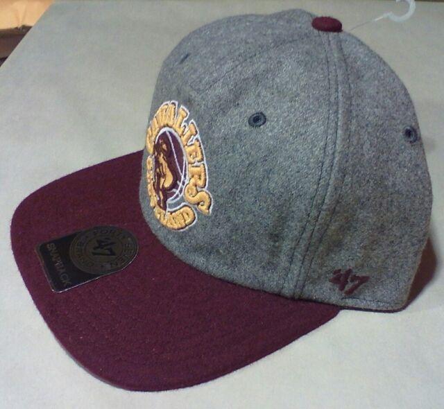 CLEVELAND CAVALIERS CAVS NBA 47 Brand Adjustable WOOL Snapback Hat Cap NWT   30 e948163cd35
