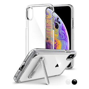 iPhone-X-XS-Spigen-Ultra-Hybrid-S-Bumper-Kickstand-Shockproof-Cover-Case
