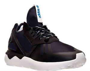 NIB Adidas Men's Originals Tubular Runner M19648 Casual Shoes Choose Size BK/Wh