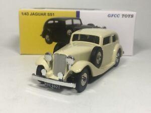 Dinky-Toys-gfcc-Toys-1-43-Jaguar-SS1-modelo-automovil-de-fundicion