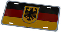 Germany/german - License Plate 6 X 12 Inches Embossed Aluminum