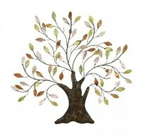 Metal Tree Of Life, Wall Art Decoration Branch Shells Home, Wall Decor, on Sale