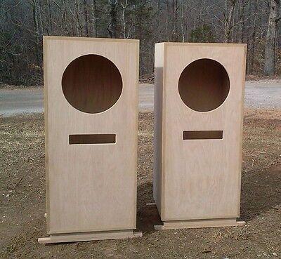 Built to Order Altec Lansing Stonehenge V (5) Cabinets Oak Walnut Etc. For 604's