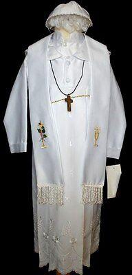 Baby Boy Communion Christening Baptism Shorts Outfit Suit set size 01234 0-24M