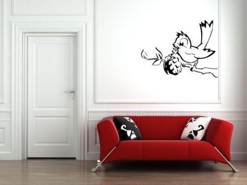 Banksy Graffiti /'Bird Grenade/' Art Wall Stickers Classic StreetArt High Quality