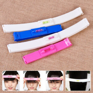 1set Woman Gril Fringe Hair Cutting Guide Layers Bang Hair Trimmer Clipper Clip Comb Ruler Beauty Clipper =2pcs