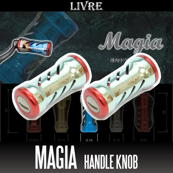 LIVRE LIVRE LIVRE Magia Titanium Handle Knob 2 pieces CHAMPAGNE / ROT 075e7e