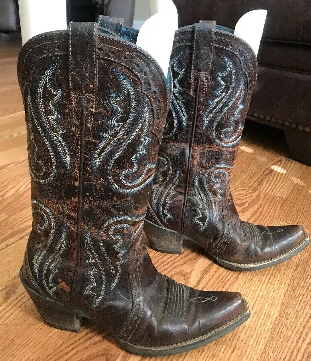 Ladies ARIAT Western Cowboy Cowboy Cowboy Boots Size 6.5 Very Good Used Condition. a5531b