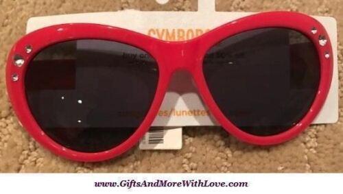Gymboree NWT Pink SOLID GEM RHINESTONE SPARKLE DRESS SUNGLASSES 4 5 6 7 8 9 10 Y