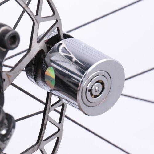 Mini Anti-Theft Bicycle Wheel Pressur Lock for Brake Disc Bike Security w// 2 Key