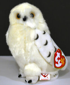 """TY Beanie Babies """"Snowdrop"""" - OWL - TY STORE Exclusive"""