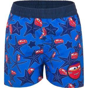 Cars McQueen Badeshorts Disney Pixar Badehose Badeshort Jungen Kinder Rot Blau