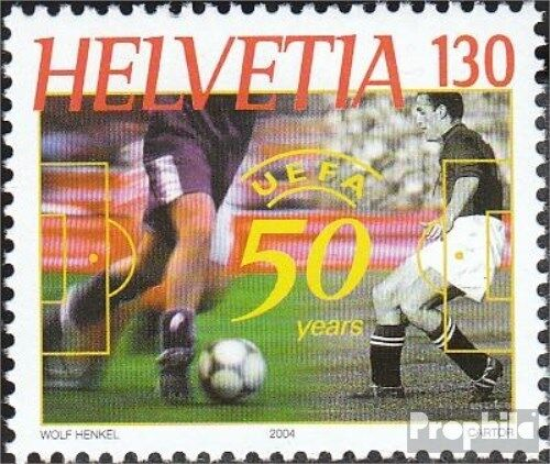 Switzerland 1865 complete issue unmounted mint never hinged 2004 UEFA