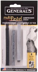 General-039-s-Compressed-Multi-Pastel-Chalk-Sticks-Grey-Tones-9408ABP