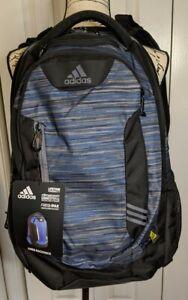 Debería legislación Grupo  Adidas Aires Mochila Core Azul/Onix Portátil Tech Xl Climacool + loadspring  Nuevo con etiquetas | eBay