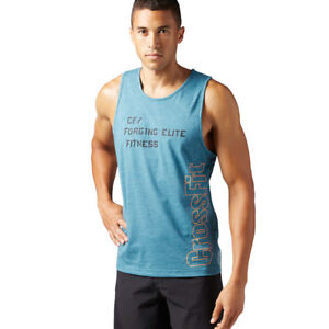 a2242575a7f6a3 Image is loading Reebok-CrossFit-Burnout-Tank-Sleeveless-Tank-Top-Shirt-