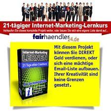 INTERNET MARKETING LERNEN 21 Tage E-mail Crashkurs TWITTER AFFILIATE NISCHEN MRR