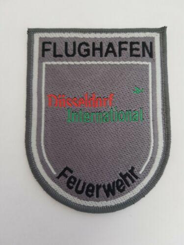 Flughafen Düsseldorf International Feuerwehr  Aufnäher  Ärmelabzeichen Patch 2