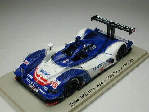 SPARK 1 43 ZYTEK 04 S  15 WINNER 1000 KM SPA 2005 du Japon