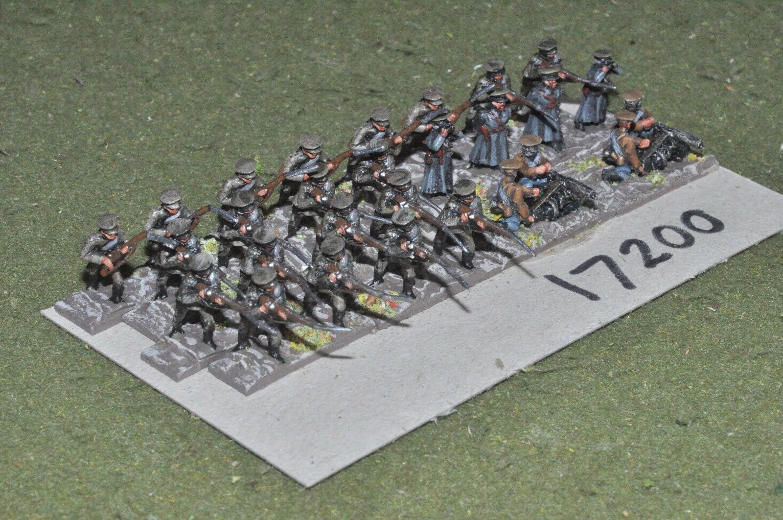 15mm WW1   russian - civil war infantry 28 figures - inf (17200)
