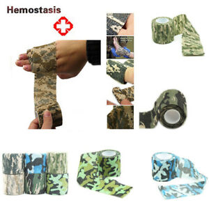 1pc Self-adhesive Grass Camouflage Hunting Camo Stealth Tape 4.5M Outdoor Sports
