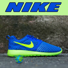 160ed4ac6a04 item 4 Nike Kids Size 6.5Y Roshe One Flight Weight GS Shoes Racer Blue Green  705485 -Nike Kids Size 6.5Y Roshe One Flight Weight GS Shoes Racer Blue  Green ...