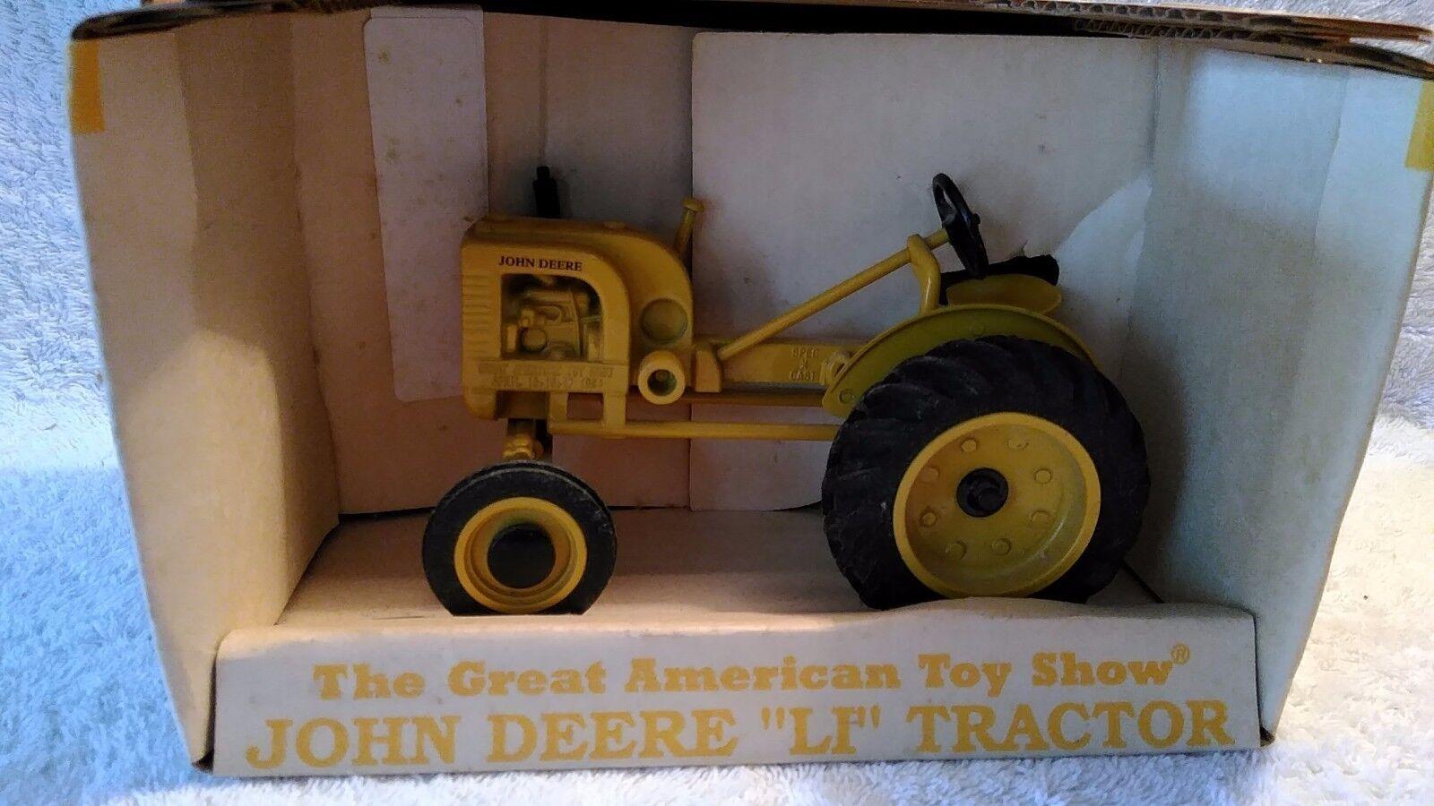 Officiel Toy Show 1994 Spec Cast John Deere  Li  tracteur édition collector