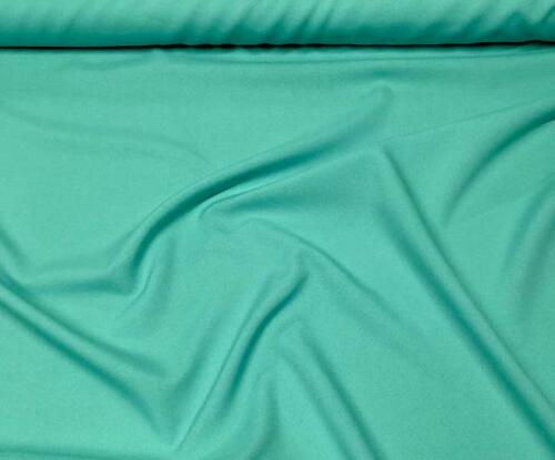 POPLIN SHEETING POLYCOTTON FABRIC SOLID TEAL GREEN MED WEIGHT 6 OZS BY THE YARD