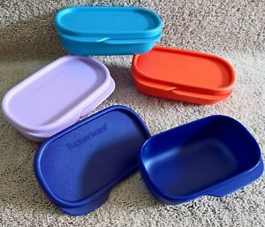Tupperware-INNER-120ml-Four-Multicolour-Food-Storage-Containers-Cute-useful