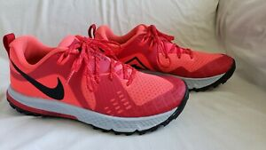 Men-039-s-Nike-Air-Zoom-Wildhorse-5-Bright-Crimson-Black-Size-6-5