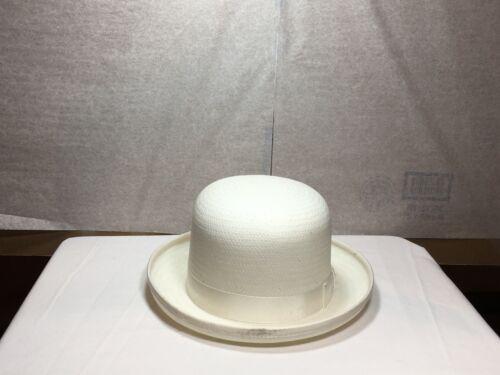NEUF avec étiquette capas Derby homme chapeau paille Made in U.S.A noir ou blanc S-M-L-XL