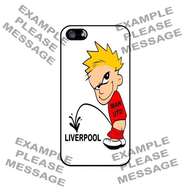 FOOTBALL PREMIER LEAGUE SOCCER PISS ON BOY Case for iPhone 5 4 5C SE 6 6S COVER