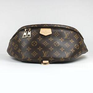 100-autentico-Louis-Vuitton-Monograma-Marron-Rinonera-Rara