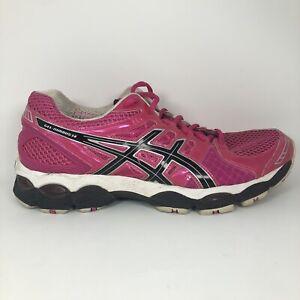 Asics-Gel-Nimbus-14-Womens-Running-Shoe-Size-US-10-So-Lyte-45-Pink-Black-T291N