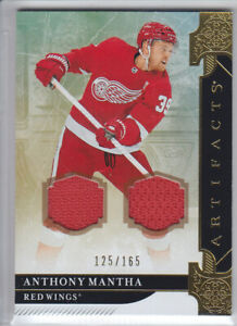 2019-20-UD-ARTIFACTS-ANTHONY-MANTHA-JERSEY-DUAL-125-165-GAME-USED-18-Red-Wings