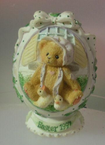 2 x Teddy Bear /'Lovey/' Handmade Settler Bears Gift Heart Love Bear 10cms NEW