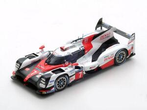 Modèle Spark 1:43 S5803 Toyota Ts050 hybride n ° 7 Le Mans 2017 Conway / kobayashi Nouveau