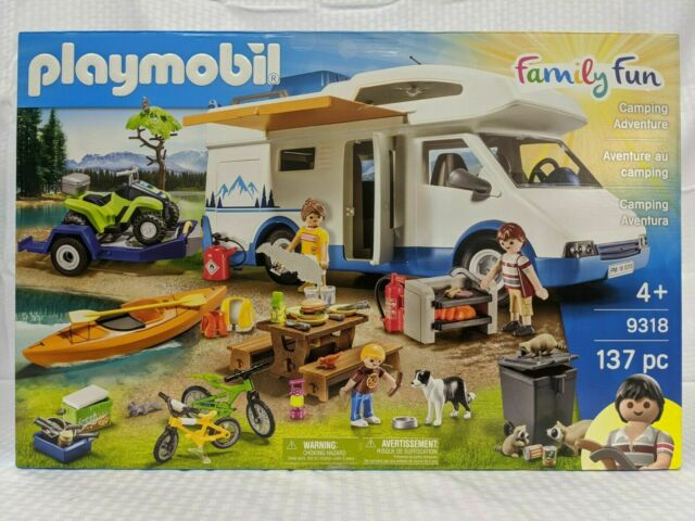 Playmobil 9318 Camping Adventure - New-  Factory Sealed