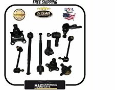 Suspension Kit Upper Lower Ball Joints Sway Bars Rack ends $5 YEARS WARRANTY$