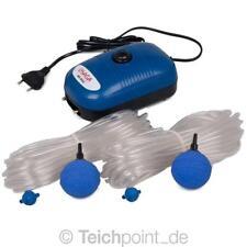 OSAGA MK-9502 Teichbelüfter - Set, Luftpumpe Koi Teich Aquarium Belüfter