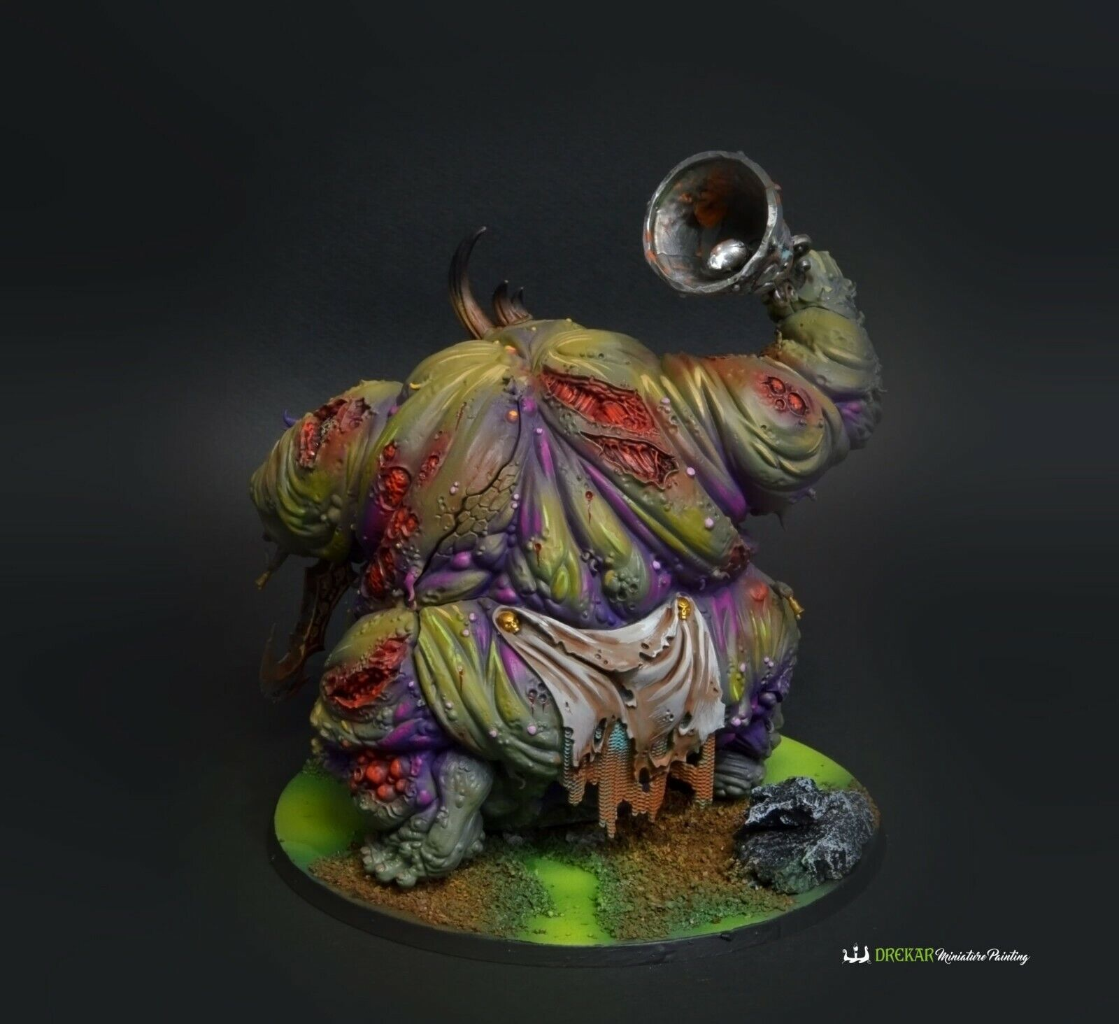 Great Unclean One Daemons of Nurgle Nurgle Nurgle Age of Sigmar  COMMISSION  painting 279c1c