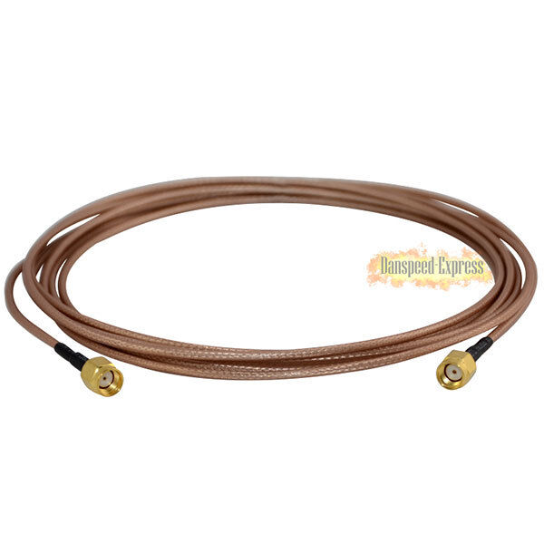 RP-SMA Male to RP SMA Male Straight WiFi Router Pigtail Cable RG316 15/50cm/1/3m