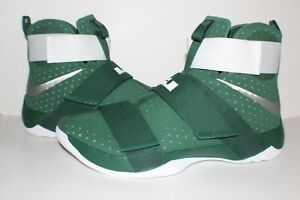 f777f9ef235be 25 Nike Lebron James Soldier 10 TB Mens Spartan Green White 856489 ...