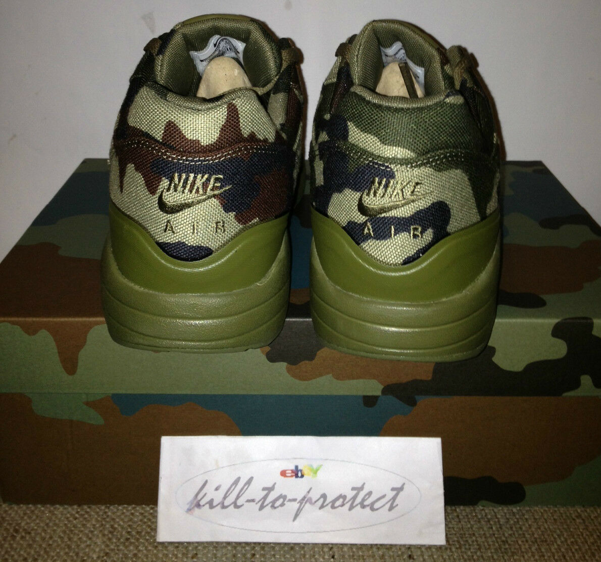 Nike air max 1 1 frankreich pack land camo pack frankreich italien sp uns uk7 8 9 10 11 607473-200 55c884