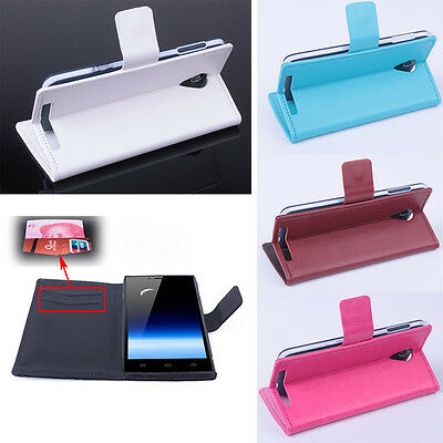 Case Cover For THL T6S Stand Flip Leather Magnetic Protective Salable
