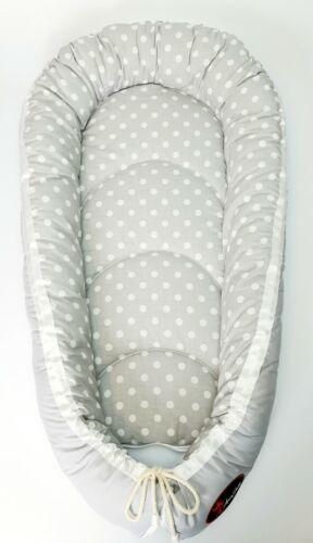 a été £ 25.99 BABY NEST Pod Cocoon Taille Normale 0-6 m haute qualité Noël PROMOTION!