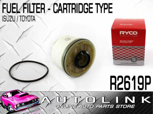 RYCO FUEL FILTER R2619P FOR TOYOTA HILUX KUN16R KUN25R KUN26R SR SR5 3.0lt