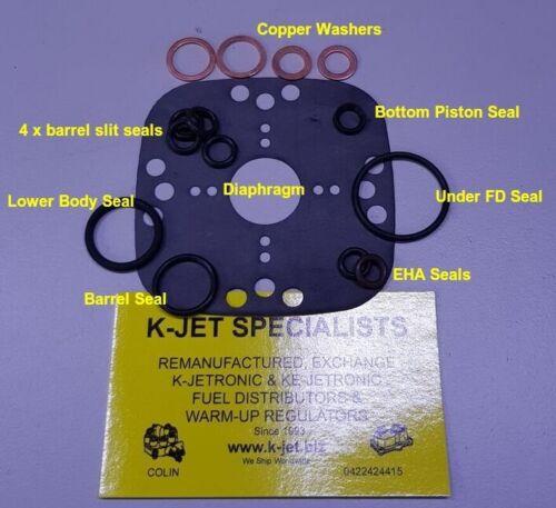 0438101010 4cylinder KE-Jetronic Fuel Distributor Rebuild Kit