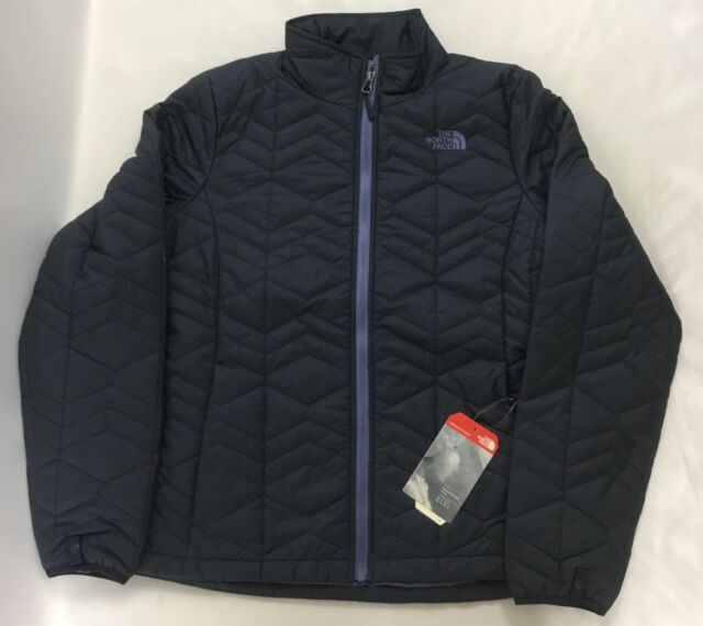 The North Face Womens Bombay Quilted Jacket Urban Navy Blue Size M