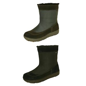 NEW-CLARKS-NELIA-MOON-GTX-GORE-TEX-WATERPROOF-SUEDE-LEATHER-TEXTILE-BOOTS-LADIES